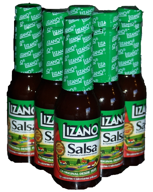 Lizano Salsa - Sauce: 135 mL Six Pack