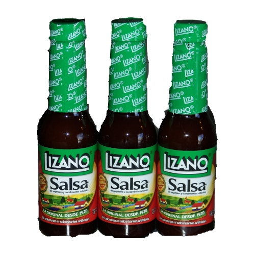 Lizano Salsa - Sauce: 135 mL Three Pack